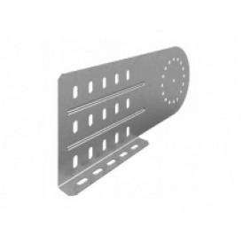 Соединитель универсальный шарнирный для лотка УЛ высотой 150/200 мм (1,5 мм) | СЛУШ-150/200 (1,5 мм) УЛ | OSTEC