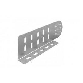 Соединитель универсальный шарнирный для лотка УЛ высотой 80 мм (1 мм) | СЛУШ-80 (1 мм) УЛ | OSTEC