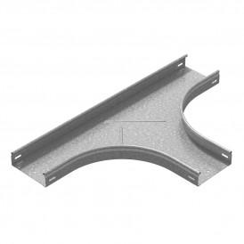 Т-отвод плавный универсальный к лотку 150х100 (радиус поворота 200 мм) | ТТРп-150х100-200 | OSTEC