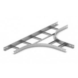 Тройник для лестничного лотка НЛО 500х80х3000 | ТЛНЛО 500х80 | OSTEC