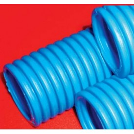 Труба ПНД гофрированная тяжелая, с зондом, без галогена, диам 25 мм