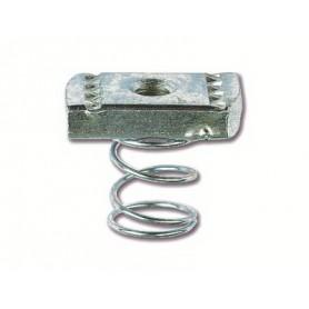 Гайка для подвешивания профиля (с удлиненной пружиной) М6х40, нержавеющая сталь AISI 316L   CM160600INOX316L   DKC