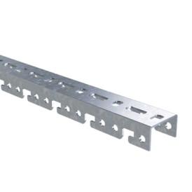 BPF2906 Профиль BPF, для консолей быстрой фиксации BBF, L600, толщ.2,5 мм ДКС