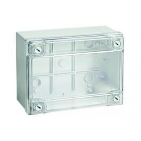 Коробка ответвит. с гладкими стенками прозрачная IP56 240х190х90мм | 54220 | DKC
