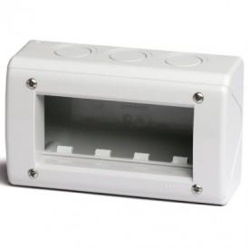 Модульная настен. коробка для эл/устан. изделий VIVA. IP40. 4мод.   54740   DKC