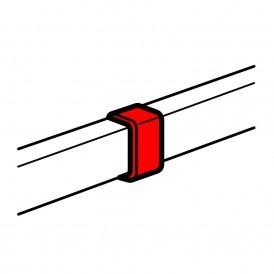 Накладка на стык кабель-каналов 40x12.5мм, 40х16мм, 40x20мм, цвет белый | 033606 | Legrand