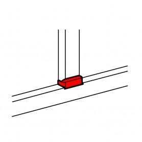 Отвод плоский с переходом на кабель-канал шириной 105мм, с крышкой 85мм, для кабель-каналов 105х35мм, 150х50мм | 010736 | Legrand