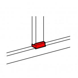 Отвод плоский с переходом на кабель-канал шириной 105мм, для кабель-канала 105х50мм| 010740 | Legrand