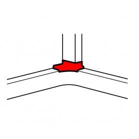 Отвод угловой для кабель-каналов 150х65мм, 195х65мм, 220х65мм | 010764 | Legrand