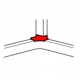 Отвод угловой для 105/80х35 и 150/80х50 Legrand 010763
