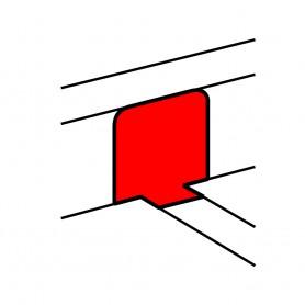 Переходник на напольный кабель-канал, крышка 65мм | 010771 | Legrand