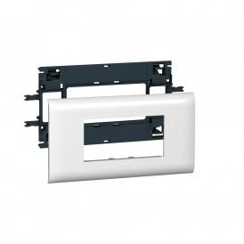 Суппорт Mosaic 4 модуля с рамкой 85мм Legrand 010994