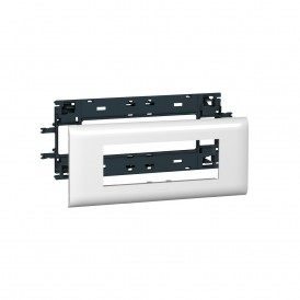 Суппорт Mosaic 6 модулей с рамкой 85мм Legrand 010996