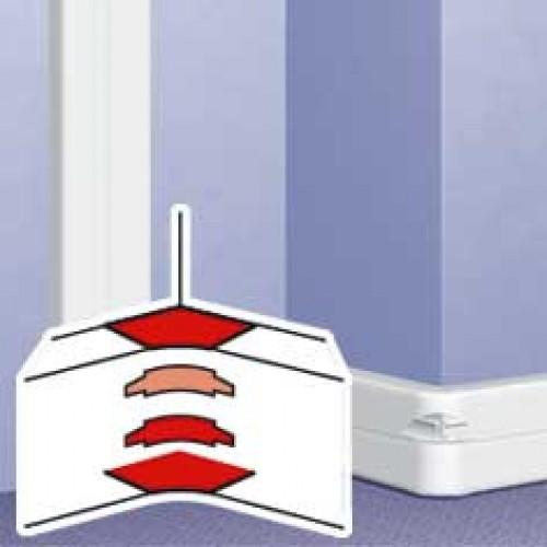 Угол внутренний, переменный от 80° до 100°, для кабель-каналов 195х65мм, 220х65мм 3 секц| 010658 | Legrand