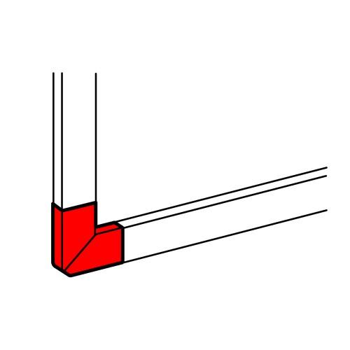Угол плоский 90° для кабель-канала 195х65мм  010793   Legrand