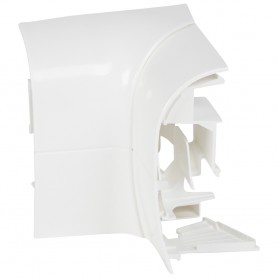 Внутренний изменяемый угол 140х20мм, белый| 033715 | Legrand