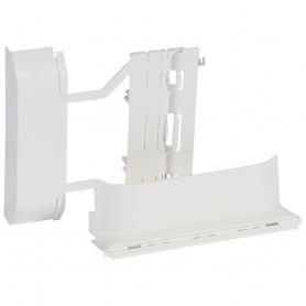 Адаптер выдвижной для монтажа рамок 4М и 2х4М, для кабель-каналов 20х12.5мм, 32х12.5мм, 40х12.5мм, цвет белый| 031702 | Legrand