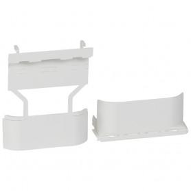Адаптер - для монтажа рамки, для мини-плинтусов DLPlus глубиной 20 мм, цвет белый | 031708 | Legrand