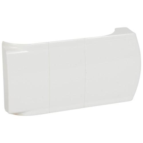 Заглушка для отвода на плинтусе белая| 033664 | Legrand