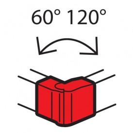 Внешний изменяемый угол - от 60° до 120° - для кабель-каналов Metra 100x50 | 638032 | Legrand