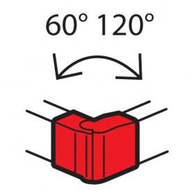 Внешний изменяемый угол - от 60° до 120° - для кабель-каналов Metra 130x50 | 638042 | Legrand