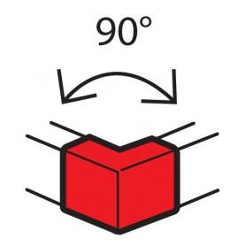 Внешний неизменяемый угол 90° - для кабель-каналов Metra 100x50 | 638012 | Legrand