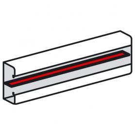 Разделительная перегородка - для кабель-каналов Metra 85x50, 100x50, 130x50 и 160x50 - 2 метра | 638008 | Legrand