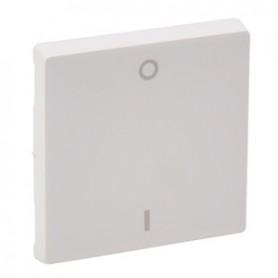 Valena LIFE.Лицевая панель для выключателя двухполюсного.Белая | 755120 | Legrand
