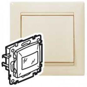 Valena Крем Датчик движения Cтандарт 40-320 Вт для л/н 2-х проводная схема подключения | 774128 | Legrand