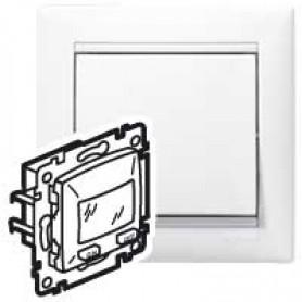 ValenaClassic. Датчик движения ИК двухпроводный без N, 240Вт, с возможностью ручного управления. Белый | 774229 | Legrand
