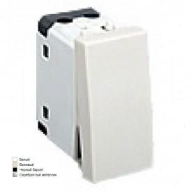 Переключатель с двух мест 45х22,5 мм (схема 6) 16 A, 250 B (черный бархат) LK45  | 850208 | Экопласт