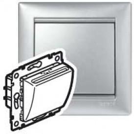 Выключатель Valena с ключ-карт Алюм   770235   Legrand