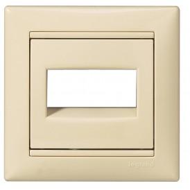 Выключатель без фиксации с подсветкой с держателем этикетки - Valena - 10 A - 12 В~ - слоновая кость | 774117 | Legrand