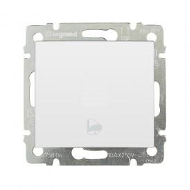 Выключатель без фиксации с символом звонка - Valena - 10 A - 250 В~ - белый | 774216 | Legrand