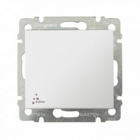 Выключатель влагозащищенной серии Valena IP44бел | 774201 | Legrand