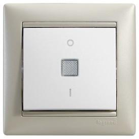 Выключатель двухполюсный с индикацией - Valena - 16 A - 250 В~ - White | 774214 | Legrand
