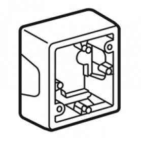 Коробка 1П для накладного монтажа. белая Valena | 776181 | Legrand