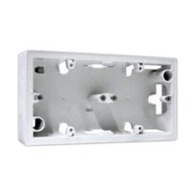 Коробка 2П накладного монтажа. белая Valena | 776182 | Legrand
