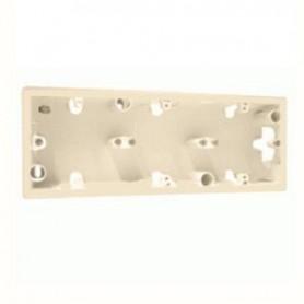 Коробка 3П для накладного монтажа Сл.кость Valena | 776133 | Legrand
