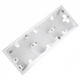 Коробка 3П накладного монтажа. белая Valena | 776183 | Legrand