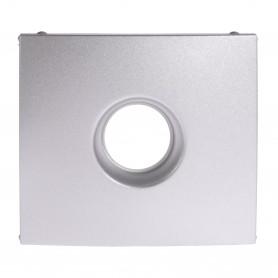 Лицевая панель - для одиночных TV розеток - Valena - алюминий | 770256 | Legrand