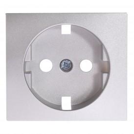 Лицевая панель розетки Legrand Valena 770253 алюминий