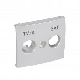 Накладка TV-FM-SAT алюминий | 770186 | Legrand