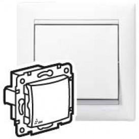 Переключатель промежуточный - Valena - IP 44 - 10 A - 250 В~ - White   770097   Legrand