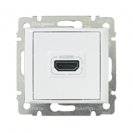 Розетка Valena HDMI для аудио/видеоустройств белый   770085   Legrand