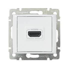 Розетка Valena HDMI для аудио/видеоустройств белый | 770085 | Legrand