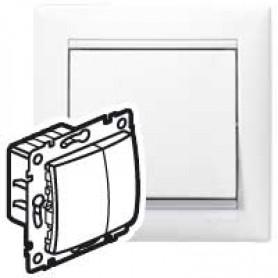 Светорегулятор Valena 4 кн.400Вт бел | 770062 | Legrand