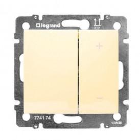 Светорегулятор кнопочный 400Вт Legrand Valena 774162 слоновая кость