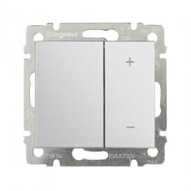 Светорегулятор кнопочный 600Вт Legrand Valena 770074 белый