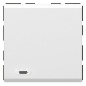 Mosaic SCS Кнопка 1 Цепь 2 мод. | 078475 | Legrand